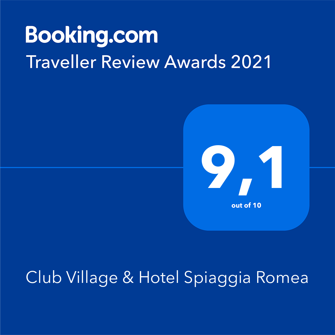 Spiaggia Romea premiata da Booking Traveller Reviews Awards 2021